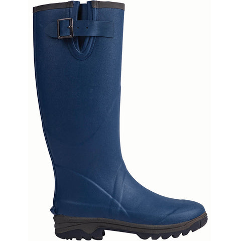 Neoprene Rubber Wellington Boots Navy - Briers