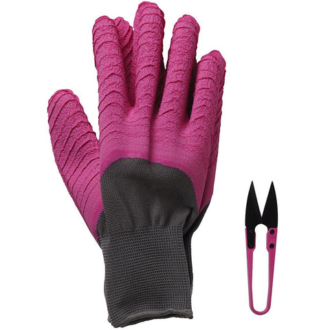 All Seasons Gardener Gloves & Snips Magenta - Briers