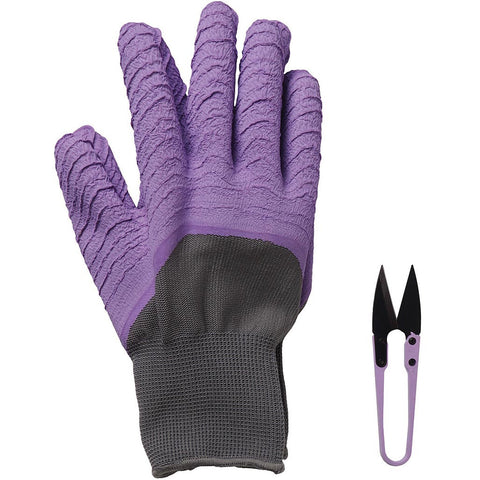 All Seasons Gardener Gloves & Snips Lavender - Briers