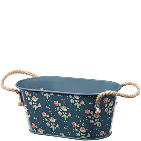 Julie Dodsworth Flower Girl Metal Trough, Small - Briers