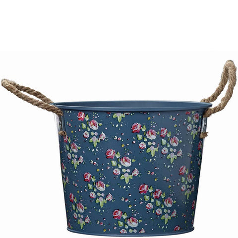 Julie Dodsworth Flower Girl Metal Bucket - Briers