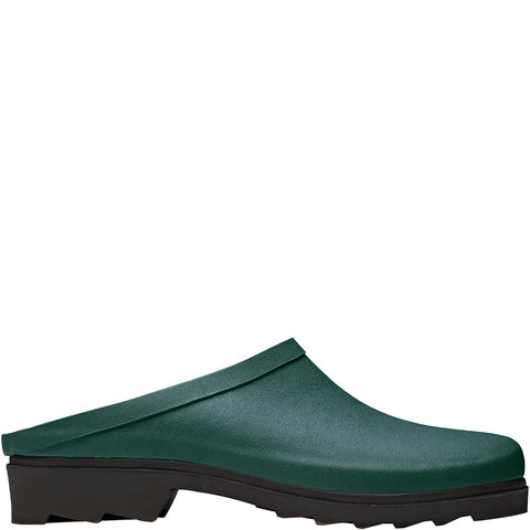 Green Rubber Clogs - Briers
