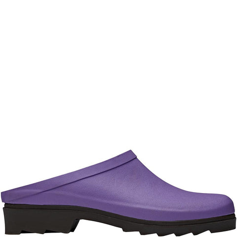 Lilac Rubber Clogs - Briers
