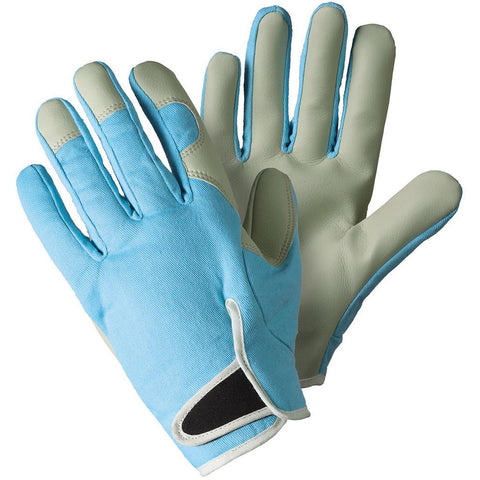 Birds & Branches Lady Gardener Sky Blue Gloves - Briers