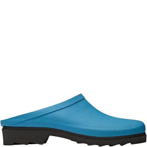 Sky Blue Rubber Clogs - Briers