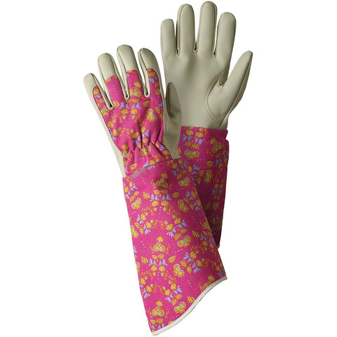 Oriental Floral Gauntlet Gloves - Briers