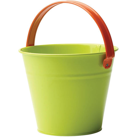 Kids Metal Bucket, Assorted Colours - Briers  - 1