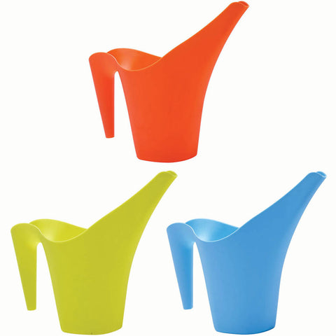 Kids Long Spout Stackable Watering Can, Assorted Colours - Briers