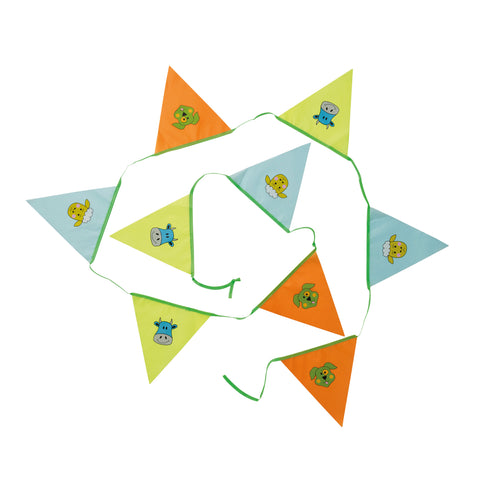 Kids Farmyard Bunting, 9 Flags