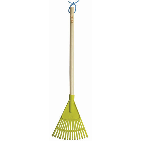 Kids Wooden Handle Leaf Rake - Briers