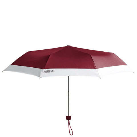 Pantone Rich Berry Compact Umbrella