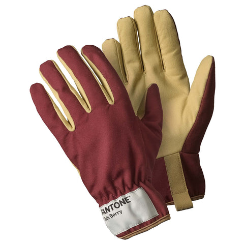 Pantone Rich Berry Gardener Gloves