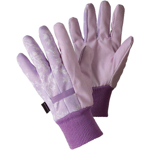 Birds & Branches Water Resistant Gloves Lavender Pink - Briers