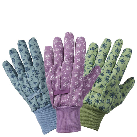 Allium Cotton Grip Triple Pack gloves