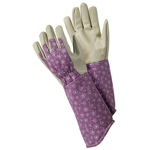 Allium Purple Gauntlet Gloves