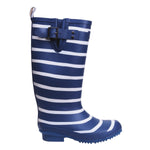 Sandley Rubber Boots Blue Stripe