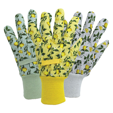 April Raven Sicilian Lemon Cotton Triple Pack