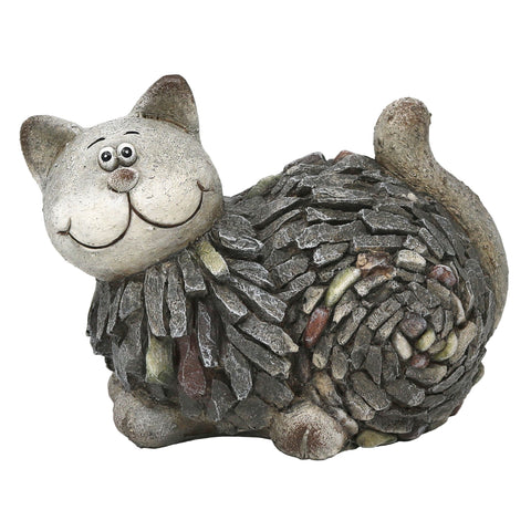 Slate & Pebble Handcrafted Cat