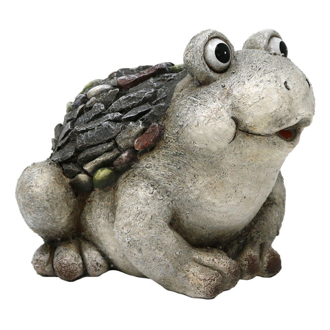 Slate & Pebble Handcrafted Frog