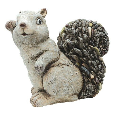Slate & Pebble Handcrafted Squirrel
