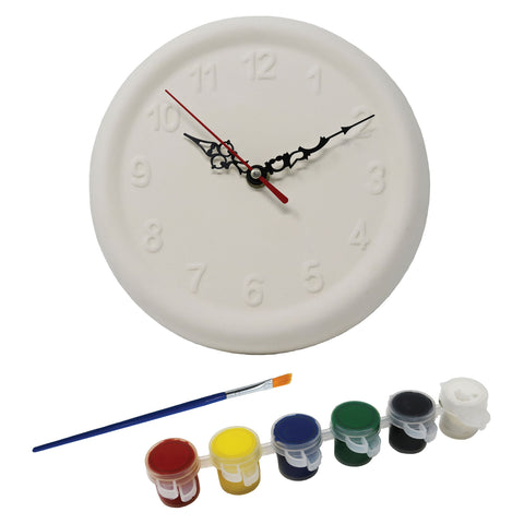 Kids Paint Your Own Clock