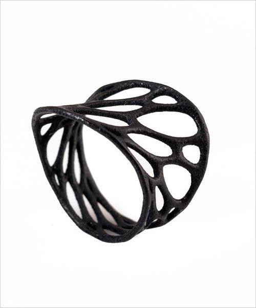 1-Layer Twist 3D Printed Ring
