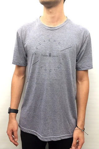 Weekend Society Gray T-shirt - CleverElement