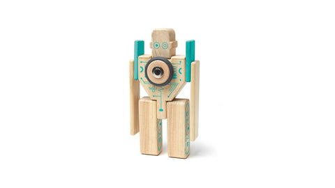 Magbot Kit - Magnetic Wooden Blocks - Designed in USA - Fair Trade from Honduras