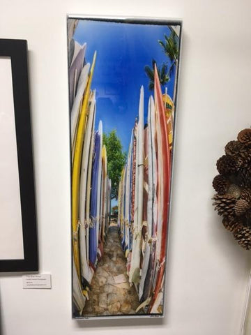 Surfboard Resin Art