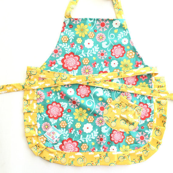 Handmade Kids Apron- Locally-made