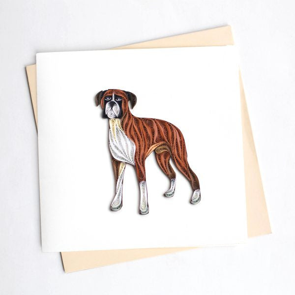 Pet Quilling Cards - Fair Trade