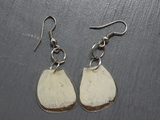 Salvaged Butterfly Wing Earrings - Fair-Trade from Ecuador - CleverElement  - 4