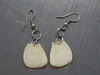Salvaged Butterfly Wing Earrings - Fair-Trade from Ecuador