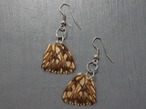 Salvaged Butterfly Wing Earrings - Fair-Trade from Ecuador - CleverElement  - 6