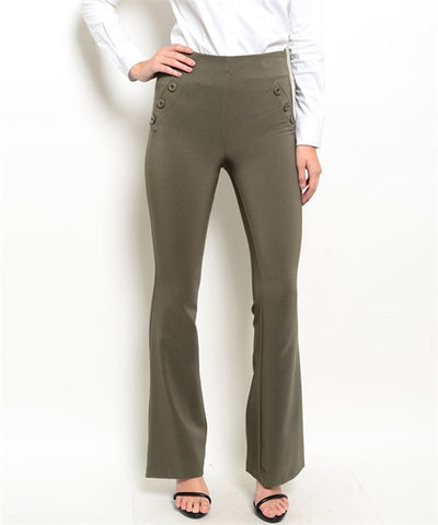 High-Waisted Dress Pants
