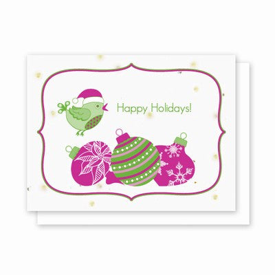 Plantable Grow-A-Note Chia Card Christmas Greeting Cards - CleverElement  - 2