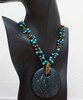 Wood and Coconut set - Necklace and Earrings - Fair-Trade from Ecuador