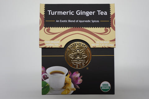 Organic Turmeric Ginger Tea - CleverElement  - 1