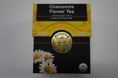 Organic Chamomile Flower Tea - CleverElement  - 1