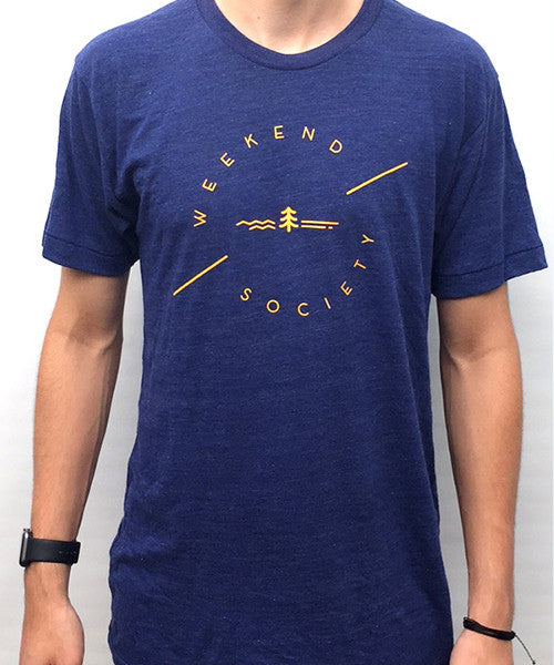 Weekend Society Indigo Blue T-shirt