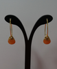 Vermeil Gold Leaf Earrings - Hand-crafted in the USA