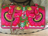 Nadine Classic Clutch - Vegan - Embroidered