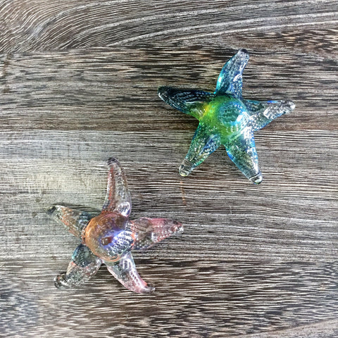 Small Glass Starfish