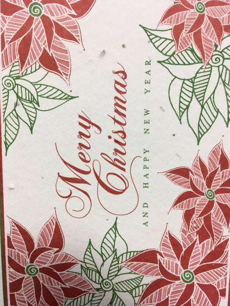 Christmas Grow-A-Note Plantable Greeting Cards