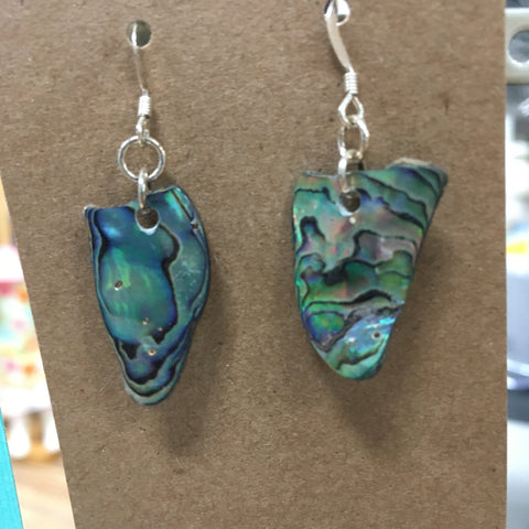 Josie Rey Designs - Paua Abalone Shell Earrings