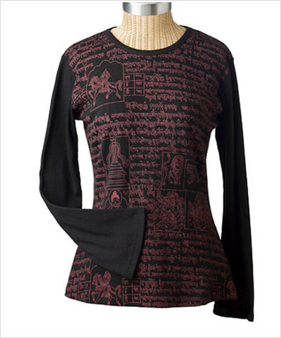 Mantra Long-Sleeve Top