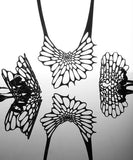 Radioalaria 3D-Printed Flexible Jewelry Set - CleverElement  - 2