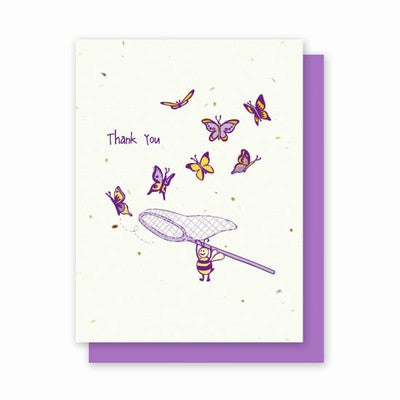 Grow-A-Note Whimsical Plantable Cards