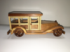 Hand-carved Wooden Model Toy - Woodie
