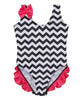 Infant Toddler Zig Zag One Piece Swimsuit